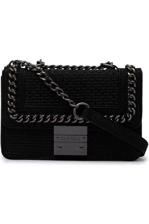 Carvela Mini Bailey textured-leather bag