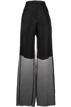 Jil Sander Sheer layered trousers