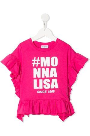 MONNALISA Logo-print cotton T-shirt