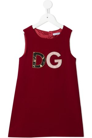 Dolce & Gabbana Logo patch dress