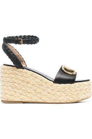 VALENTINO GARAVANI VLogo wedge sandals