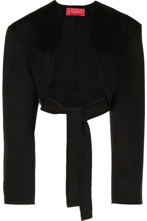 Peter Do Cropped bolero tie-waist jacket