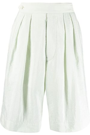 Moncler Genius High-waisted knee-length shorts
