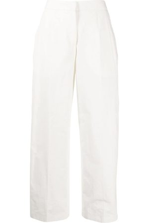 Jil Sander High-waisted wide-leg trousers