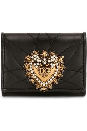 Dolce & Gabbana Logo-plaque quilted pouch