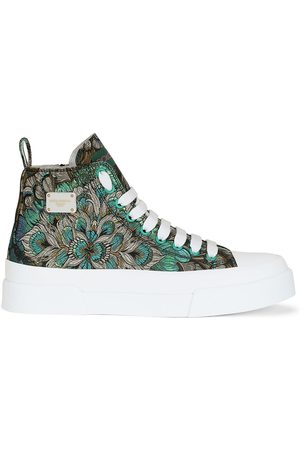 Dolce & Gabbana Logo-plaque lace-up sneakers