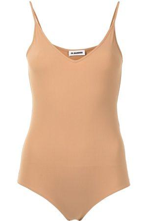 Jil Sander Women Bodies - Sleeveless V-neck bodysuit