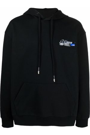 Ader Error Logo-print pullover hoodie