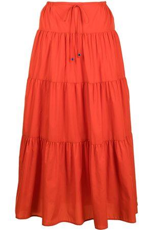 Staud Lucca recycled-nylon skirt