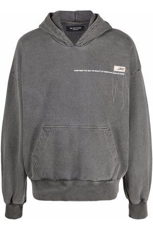 VAL KRISTOPHER Logo-print pullover hoodie