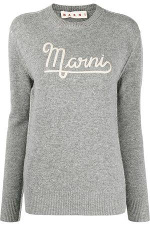 Marni Logo-embroidered jumper