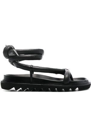 Studio Amelia Padded leather sandals