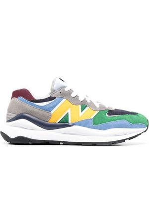 New Balance Colour-block low-top bankers