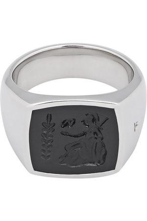 TOM WOOD Athena onyx-embellished ring