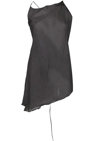MARC LE BIHAN Asymmetric silk top