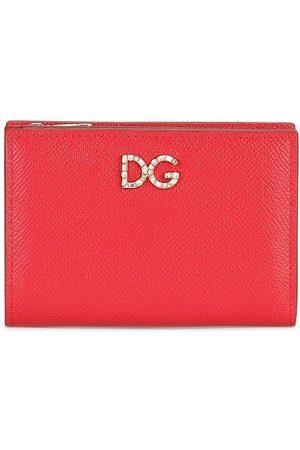 Dolce & Gabbana Small Dauphine rhinestone wallet