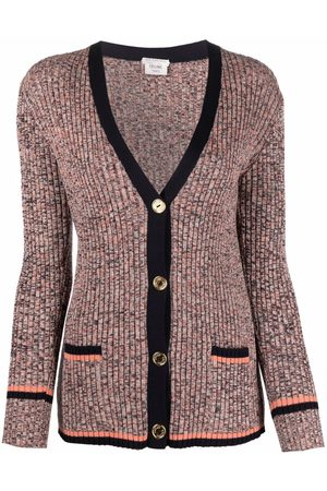 Céline Pre-owned ribbed buttoned cardigan