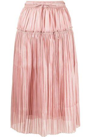 BAPY BY *A BATHING APE® Pleated midi skirt