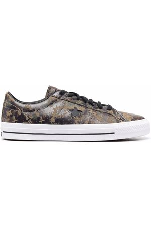 Converse Chuck Taylor camouflage-print low-top sneakers
