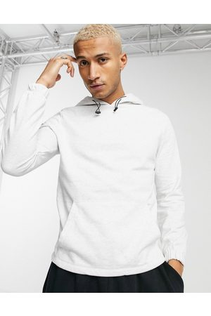 ASOS Organic hoodie with toggle detail & fixed hem in