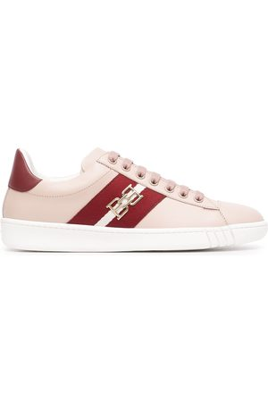 Bally Stripe-detail leather sneakers