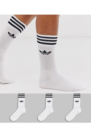adidas Originals Adicolor Trefoil 3 pack socks