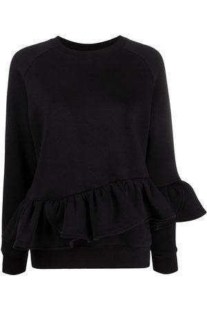 Atu Body Couture Long-sleeved ruffled sweatshirt