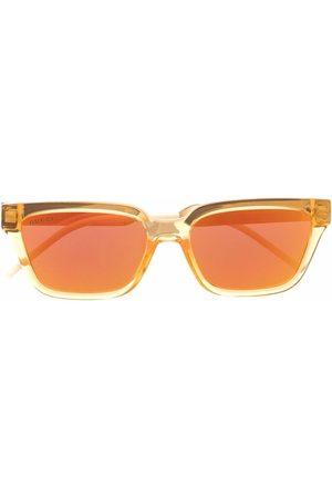 Gucci Square-frame mirrored sunglasses