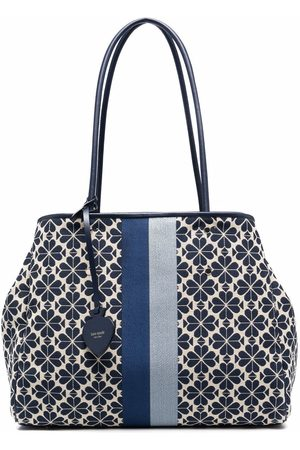 Kate Spade Flower-jacquard large tote bag
