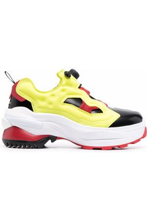 Maison Margiela X Reebok Tabi toe low-top sneakers