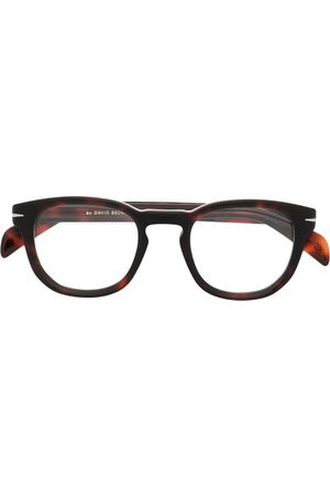 DB EYEWEAR BY DAVID BECKHAM Tortoiseshell-frame glasses