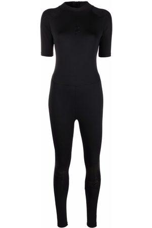 Nike Women Sports Shorts - Short-sleeved stretch jumpsuit