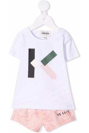 Kenzo Monogram-print tracksuit set