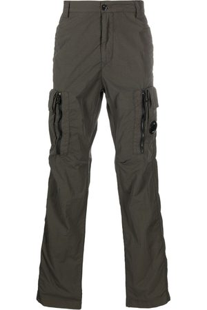 C.P. Company Logo-patch cargo trousers