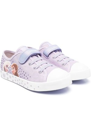 Geox Frozen-motif low-top sneakers