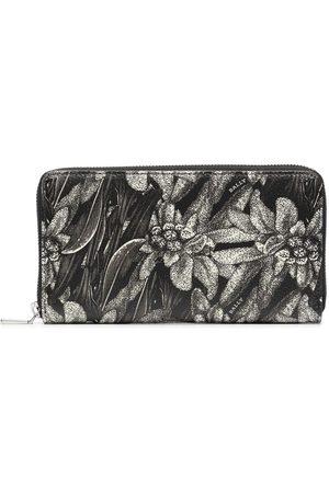 Bally Floral print zip wallet