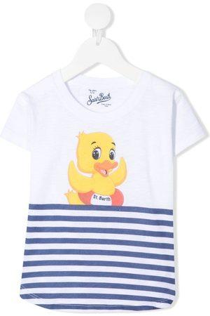 MC2 SAINT BARTH Ducky striped T-shirt