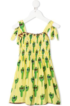 MC2 SAINT BARTH Cactus-print dress