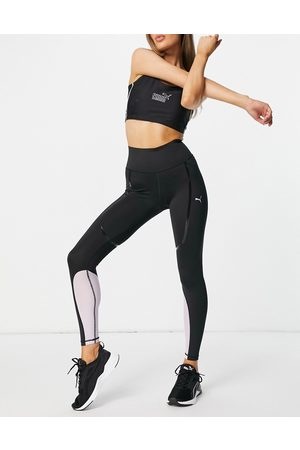PUMA Running high waisted legging in and purple