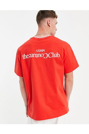 The Couture Club Relaxed fit t-shirt in with chest and back print