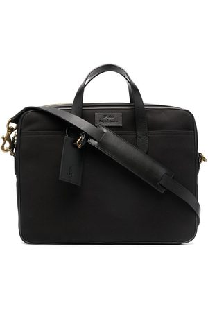 Polo Ralph Lauren Commuter logo-patch briefcase