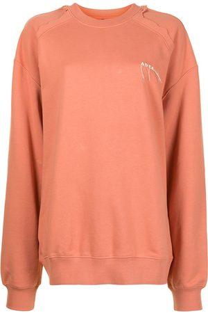 Ader Error Logo-embroidered oversize sweatshirt