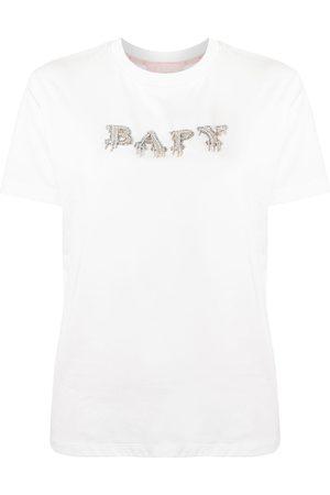 BAPY BY *A BATHING APE® Logo-studded cotton T-shirt