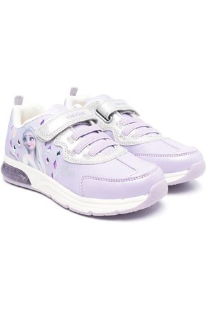 Geox Kids Space Club Frozen-motif sneakers