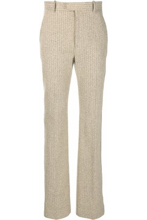Bottega Veneta High-waisted straight-leg trousers