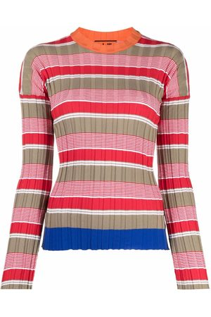 Colville Striped ribbed-knit jumper