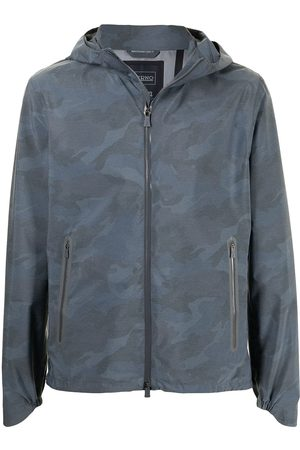 Herno Laminar thermotape 3-layer bomber jacket