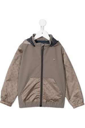 Herno Kids Lightweight zip-up jacket