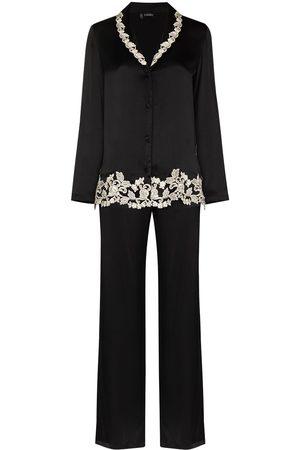 La Perla Maison lace-trim two-piece pyjamas