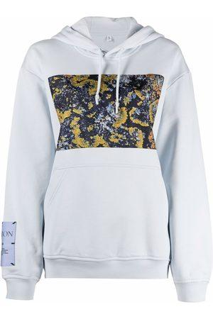 MCQ Logo-patch sleeve hoodie
